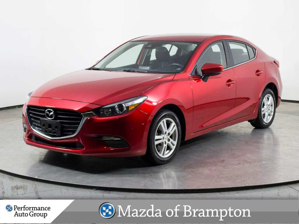 Pre-Owned 2018 Mazda3 GS  HTD SEATS  PUSH-START  BLUETOOTH  ALLOYS FWD Sedan