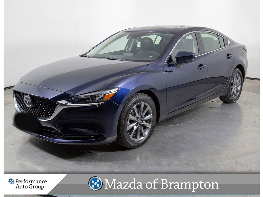 Pre-Owned 2018 Mazda6 GS-L. HTD SEATS. ROOF. CAMERA. DEMO UNIT