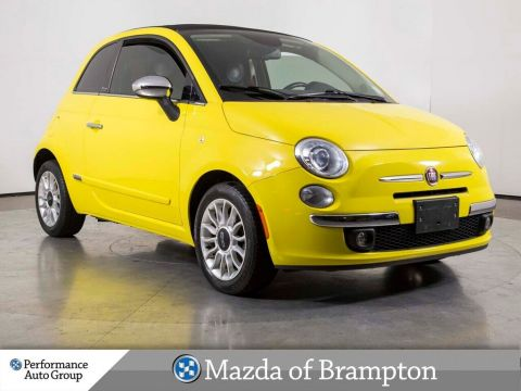 Pre-Owned 2013 FIAT 500C Lounge !! CABRIO !!